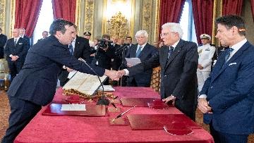 2 - Il giuramento del Ministro degli Affari UE Enzo Amendola