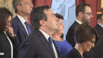 3 - Il giuramento del Ministro degli Affari UE Enzo Amendola