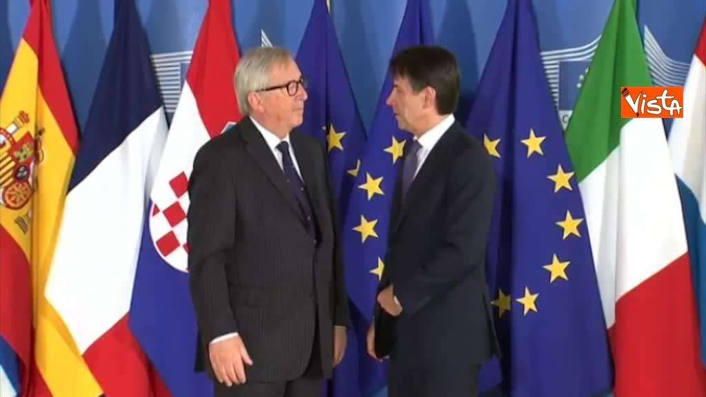 24-06-18 Vertice migranti a Bruxells, tutti gli arrivi da Conte alla Merkel