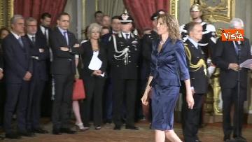 3 - Il giuramento di Stefani, Ministro agli Affari Regionali