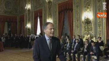 3 - Il giuramento di Moavero Milanesi, Ministro degli Esteri