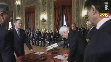 5 - Il giuramento di Moavero Milanesi, Ministro degli Esteri