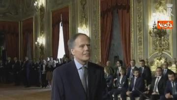 4 - Il giuramento di Moavero Milanesi, Ministro degli Esteri