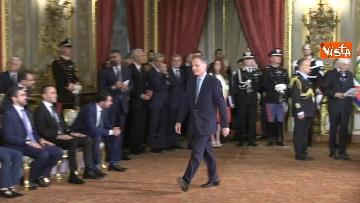2 - Il giuramento di Moavero Milanesi, Ministro degli Esteri