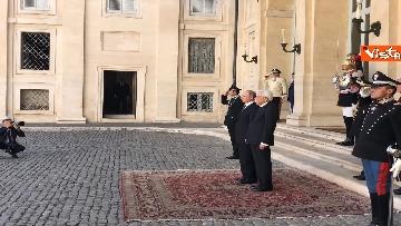 12 - Mattarella riceve Putin in visita ufficiale al Quirinale
