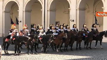 14 - Mattarella riceve Putin in visita ufficiale al Quirinale