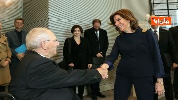 3 - Casellati incontra il presidente del Bundestag Schauble a Berlino