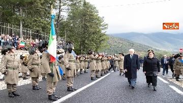6 - Il Presidente Mattarella al 75esimo anniversario della battaglia di Monte Lungo