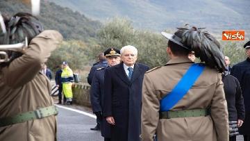 4 - Il Presidente Mattarella al 75esimo anniversario della battaglia di Monte Lungo