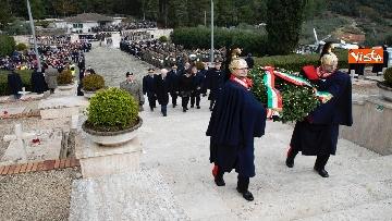 5 - Il Presidente Mattarella al 75esimo anniversario della battaglia di Monte Lungo