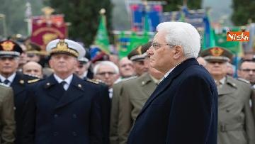 7 - Il Presidente Mattarella al 75esimo anniversario della battaglia di Monte Lungo