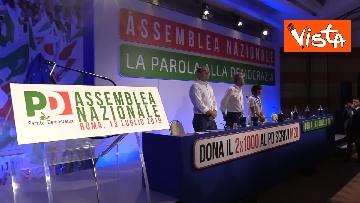 3 - Assemblea Nazionale del Partito Democratico, le immagini