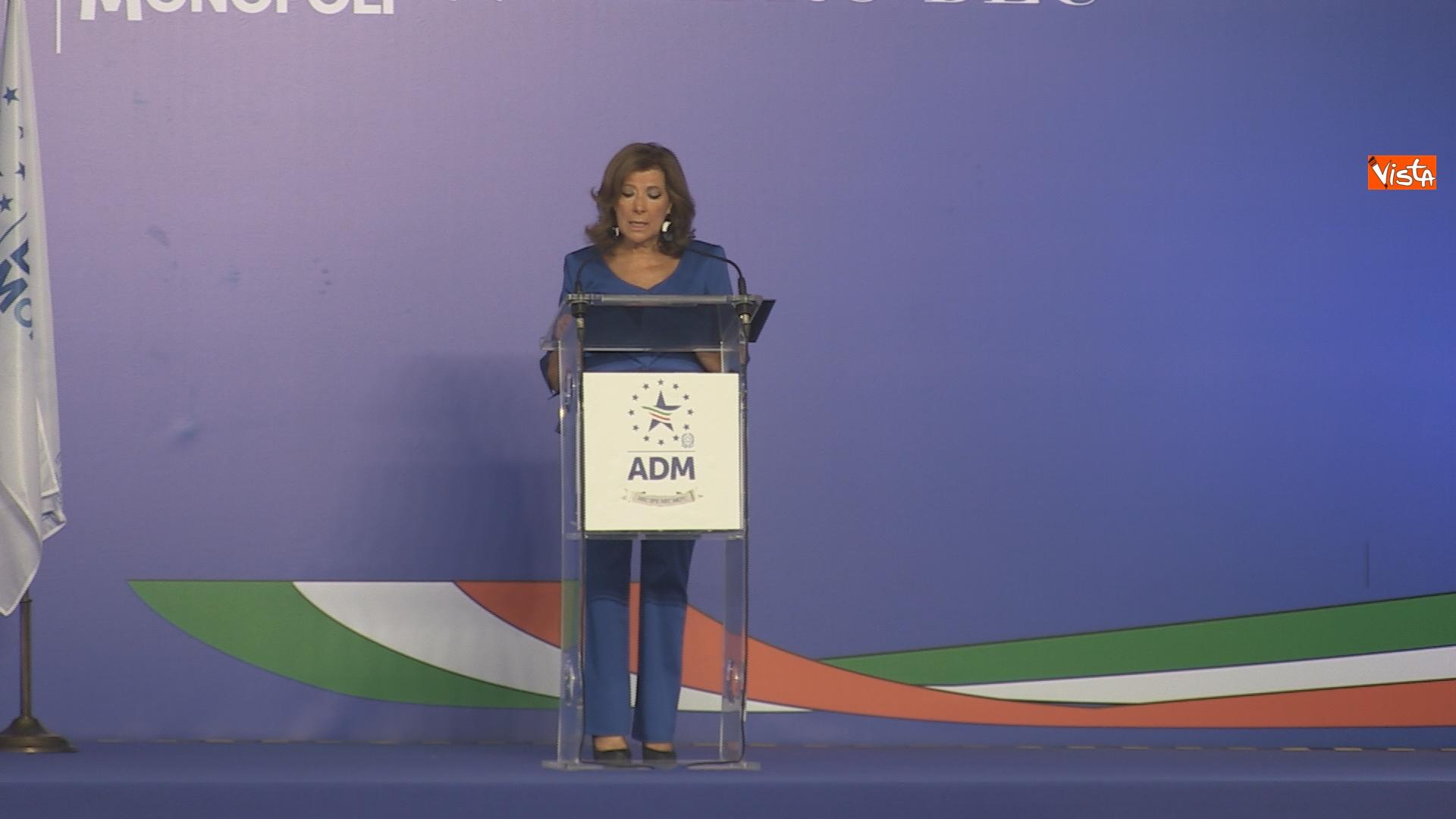 L'intervento della presidente del Senato Maria Elisabetta Alberti Casellati