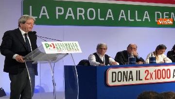 8 - Pd, la prima Assemblea con Zingaretti presidente immagini