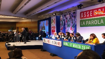 14 - Pd, la prima Assemblea con Zingaretti presidente immagini