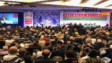 10 - Pd, la prima Assemblea con Zingaretti presidente immagini