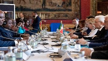 6 - Mattarella incontra il Presidente del Mozambico al Quirinale