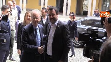 3 - Salvini e Fontana alla sottoscrizione dell'accordo riguardante la promozione della Sicurezza Integrata