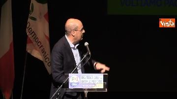 1 - Europee, Zingaretti lancia la campagna elettorale a Milano