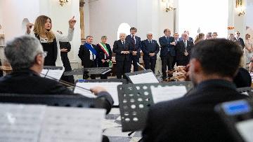 4 - Mattarella visita il Santuario di Santa Maria della Vittoria a Scurcola Marsicana