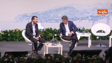 7 - De Micheli e Salvini alla Due giorni di Alis a Sorrento