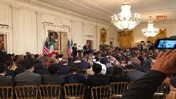 9 - Trump e Conte in conferenza stampa alla Casa Bianca