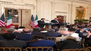 12 - Trump e Conte in conferenza stampa alla Casa Bianca