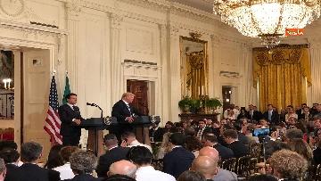 7 - Trump e Conte in conferenza stampa alla Casa Bianca