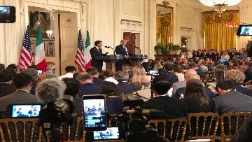 3 - Trump e Conte in conferenza stampa alla Casa Bianca