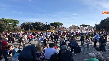6 - Sovranisti e negazionisti Covid in piazza a Roma, le foto