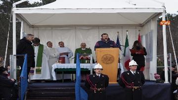 4 - Il ministro Salvini alla Foiba di Basovizza