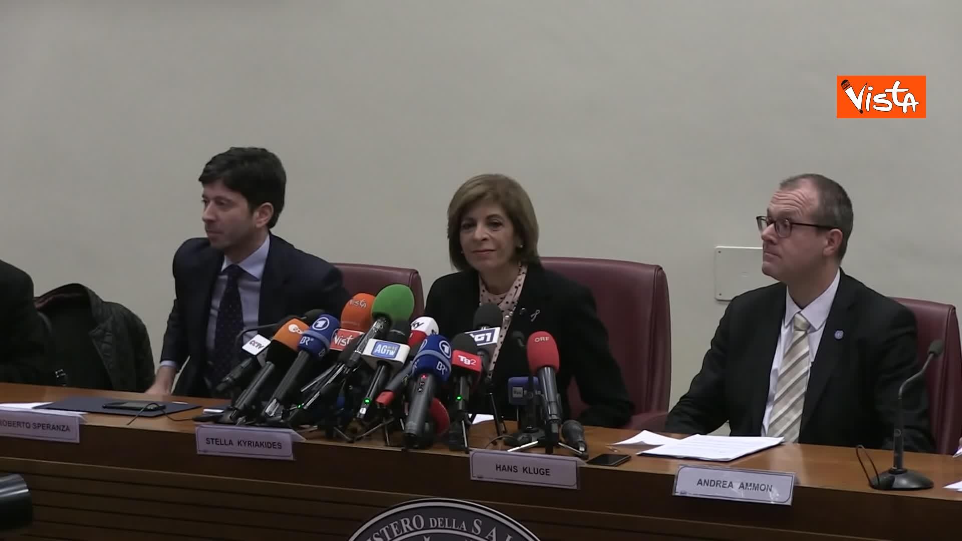 Roberto Speranza, Stella Kyriakides