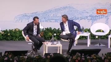 5 - De Micheli e Salvini alla Due giorni di Alis a Sorrento