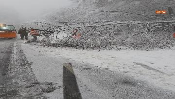 2 - Maltempo ed emergenza neve Anas in azione per garantire la viabilita