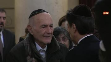 4 - Conte visita il Tempio maggiore ebraico a Roma
