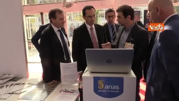 7 - 18-10-18 Anas presenta nuove tecnologie per sicurezza stradale al SAIE 2018