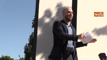 6 - Il comizio dello scrittore Roberto Saviano a parco Sempione a Milano