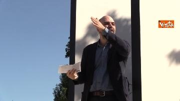 5 - Il comizio dello scrittore Roberto Saviano a parco Sempione a Milano