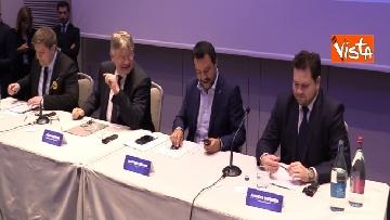4 - Salvini comincia la campagna elettorale insieme agli alleati sovranisti