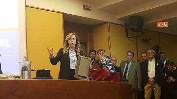 5 - Meloni presenta patto federativo con Direzione Italia