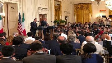 1 - Trump e Conte in conferenza stampa alla Casa Bianca