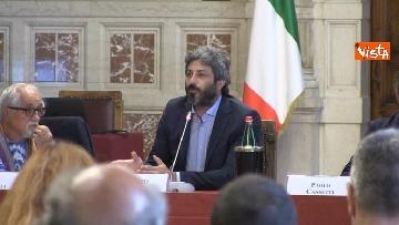 1 - Acqua pubblica, la tavola rotonda a Montecitorio con Fico