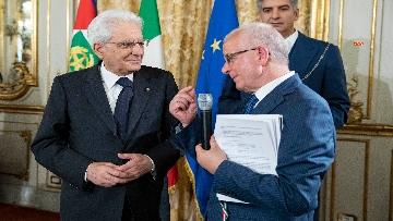 1 - Mattarella alla cerimonia celebrativa dei 50 anni di attività dell'AIL