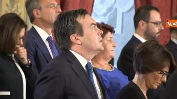 1 - Il giuramento del Ministro degli Affari UE Enzo Amendola