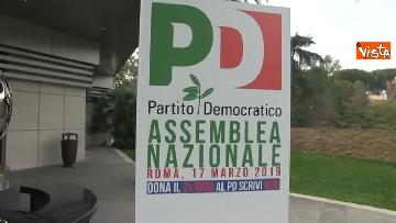 1 - Pd, la prima Assemblea con Zingaretti presidente immagini