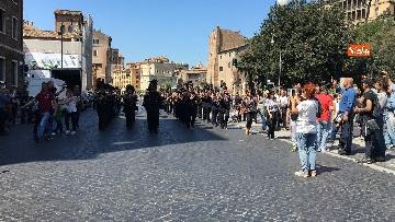 6 - Raggi assiste ai festeggiamenti per il Natale di Roma
