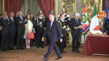 1 - Il giuramento di Moavero Milanesi, Ministro degli Esteri
