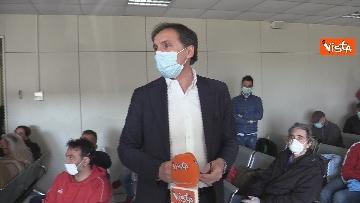 12 - In volo con il ministro Boccia e gli infermieri volontari che vanno al nord a combatter il covid