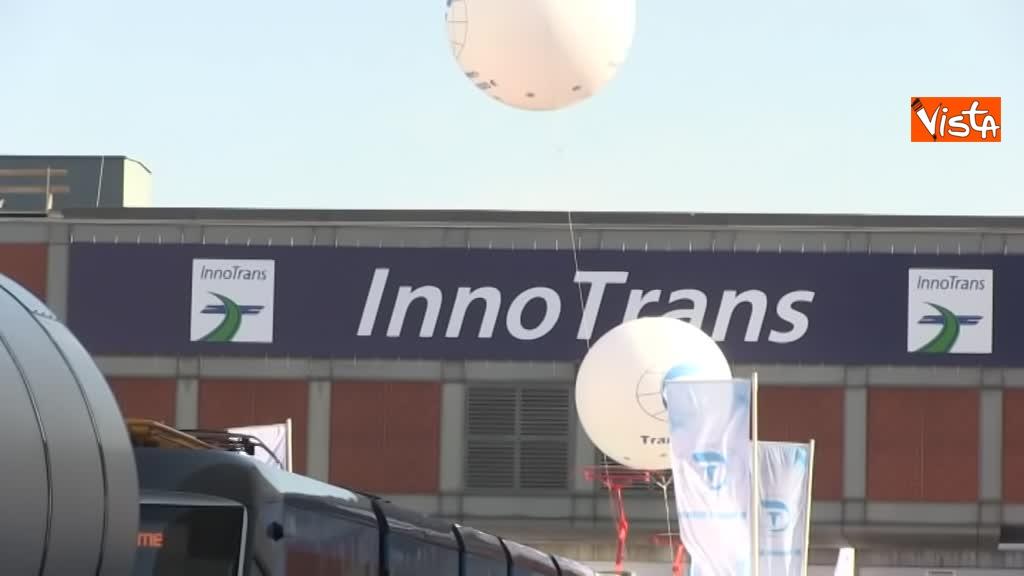 Pop e Rock, i nuovi treni presentati da Ferrovie dello Stato a InnoTrans