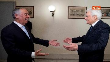 1 - Il presidente della Repubblica Sergio Mattarella a Napoli